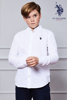 U.S. Polo Assn. Long Sleeve Oxford Shirt