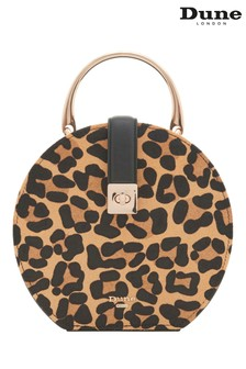 Dune Accessories Leopard Small Circle Vanity Case