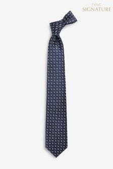 Signature Paisley Silk Tie