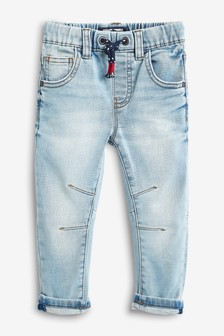 Jeans da jogging denim in jersey (3 mesi - 7 anni)