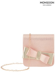 Monsoon Yasmin Bow Shimmer Bag