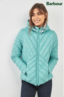 Barbour® Sea Green Lightweight Rowlock Quilt Jacket