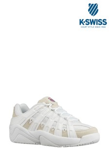 K•Swiss White Endorsement Trainer