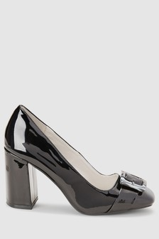 Buckle Detail Court Shoes