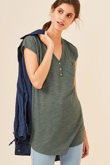 d03c9d6053 Womens Tunic Tops | Plain & Print Tunics | Next UK