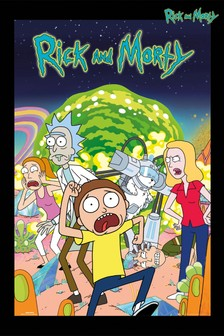 Rick and Morty Framed Poster