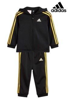 adidas Baby 3 Stripe Tracksuit