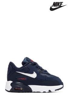 86a3d0953cd9 Nike Navy Red Air Max 90 Junior