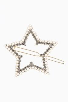 Sparkle Star Hair Clip