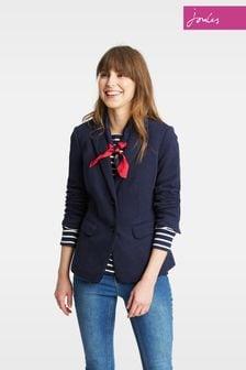 Joules Navy Agatha Jersey Blazer