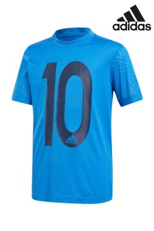 adidas Messi Blue Icon Tee