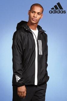 Черная куртка adidas WND