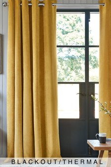 Yellow Curtains Amp Blinds Yellow Blackout Amp Lined