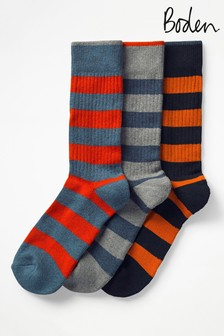 Boden Black Chunky Weekend Socks