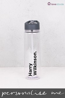 Personalised Full Name Water Bottle by Loveabode