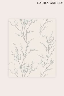 Laura Ashley Pussy Willow Wallpaper Sample