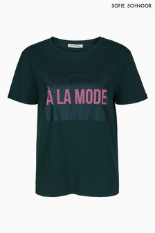 Sofie Schnoor Green LA Mode T-Shirt
