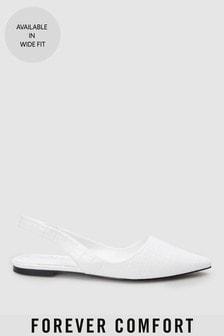 Туфли с острым носком и асимметричным ремешком через пятку Forever Comfort®