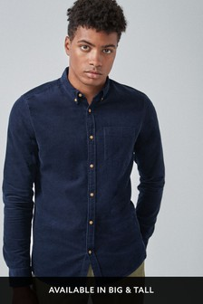 Cord Long Sleeve Shirt
