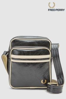 b4aa9b9b921a2e Fred Perry Black Classic Side Bag
