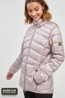 Barbour® International Pink League Quilt Jacket