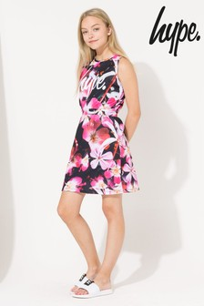 Hype. Pink Floral Dress