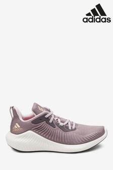 Сиреневые беговые кроссовки adidas AlphaBounce+