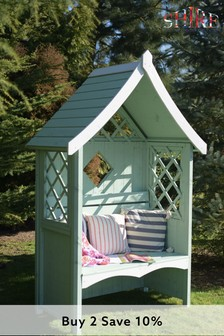 Rose Painted Arbour