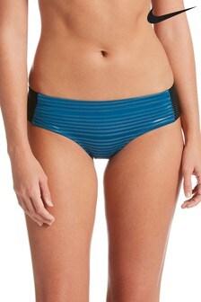 Nike Shine Stripe Hipster Bikini Bottom