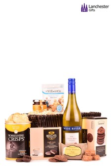 Gluten Free Wine And Treats Gift Box by Lanchester Gifts