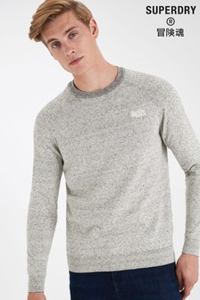 Superdry Grey Crew T-Shirt