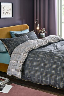 Prince Of Wales Duvet Cover and Pillowcase Set