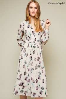 Phase Eight Cream Emanuella Floral Printed Dress