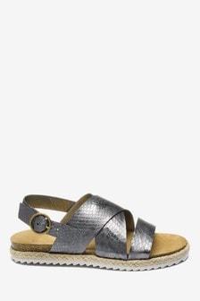 Sandales à brides en corde (Garçon)