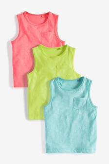 Vests Three Pack (3mths-7yrs)