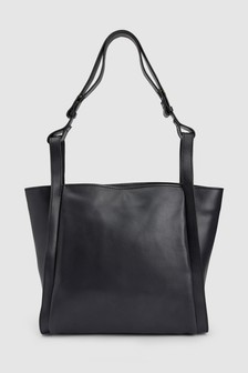 Leather Small Shopper