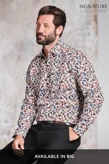 Ornate Print Slim Fit Shirt