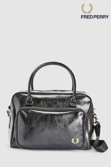 Fred Perry Black Classic Holdall