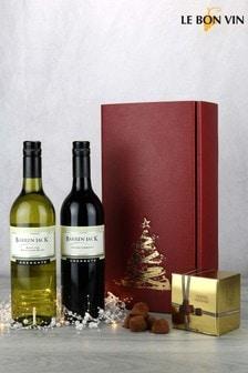 Australian Wine & Champagne Truffles Festive Gift Set by Le Bon Vin