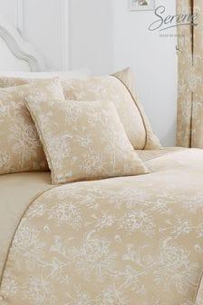Serene Gold Jasmine Cushion