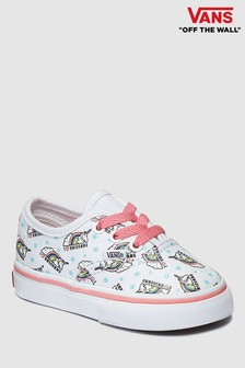Vans White Unicorn Authentic Infant Trainer