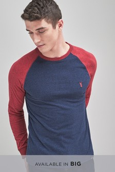 Long Sleeve Soft Touch Raglan T-Shirt