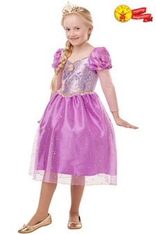 Rubies Glitter Sparkle Rapunzel Fancy Dress Costume