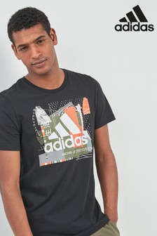 adidas Black Badge Of Sport Graphic Tee
