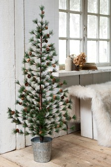 4ft Pine Cone Christmas Tree