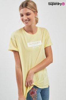 Superdry Lemon Lux Logo Tee