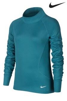 Nike Teal Warm Long Sleeve Top