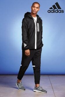 adidas WND黑色運動褲