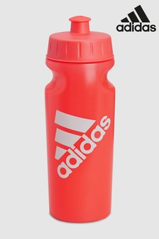 adidas Red Performance Water Bottle