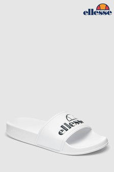 Ellesse™ White Filippo Sliders